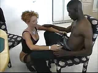 Black cock business for mature woman. f70