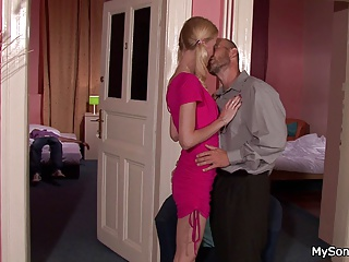 Older man (dominant) with younger girl A collection from: babi03