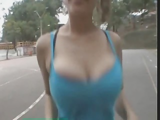 image Big hooters lateshay big tits wiggle
