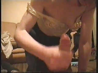 Dirty british slag is impatient for her man to cum!