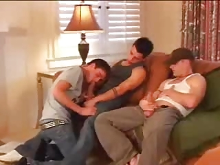 Gay double anal