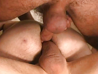Cum swapping, men eating cum from dripping pussies and bukkake A collection from: fit_n_sexy