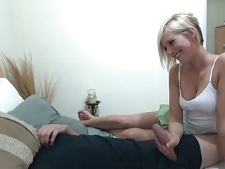 Slut stepsister asks not brother to suck his cock 10