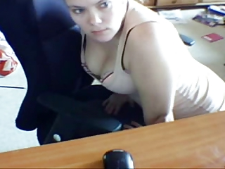 Hidden cam wife humping chair and self tape pussy play