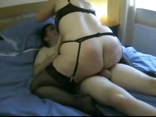 Horny fat bbw ex girlfriend riding cock and getting a facial