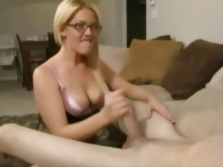 Petra mis casting audition big boobs blonde gives handjob - 2 part 10
