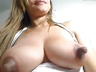 Big milky nipples