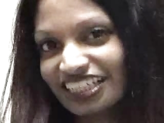 Indian chick gets white dick