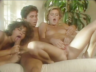 Janey Robbins, Ginger Lynn, Susan Hart + Peter North