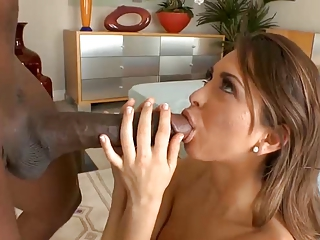 Model destroyed by big black cock ii