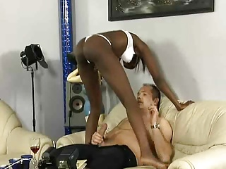 Modelling audition ends in fucking session