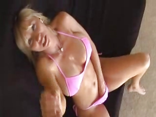 Nice handjob by mom keri lynn