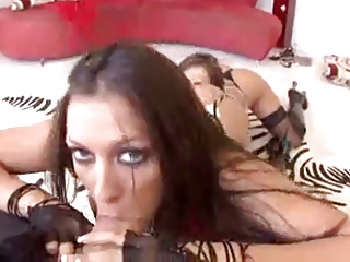 Rachel Starr and Rachel Roxxx threesome