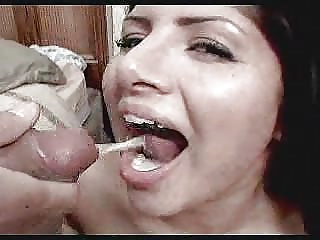 Sativa eating a lot of cum
