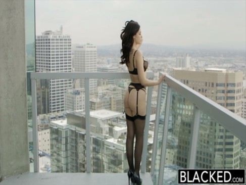 BLACKED British Wife Ava Dalush Loves Big ...