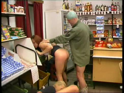 Cashier and Customer Fucked in Store