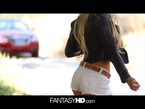 FantasyHD - Hitchhiking teen gets a sexy  ...