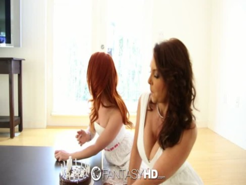 HD - FantasyHD Foxy Janet gives Teen Dani ...