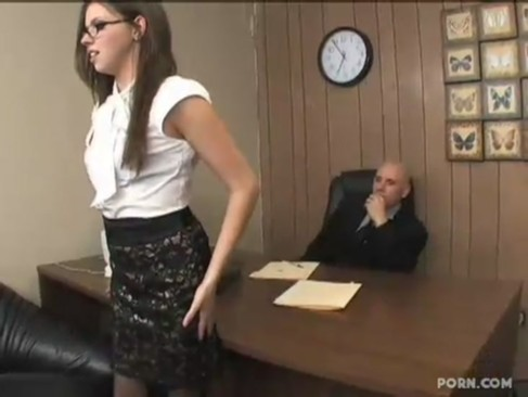 Hot secretary Missy Stone fucked by her boss