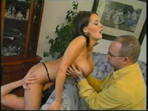 Monica Roccaforte in a threesome