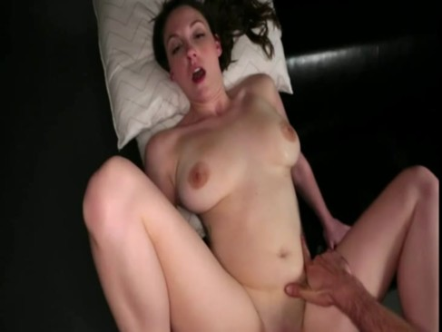 Natural busty brunette blowjob and banged ...