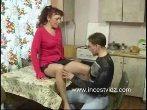 She looks russian mom son gangbang Sexy lingerie this