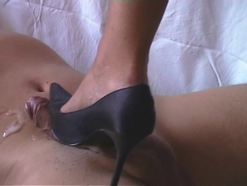Shoejob with christian louboutin high heels cum on shoes - 1 9