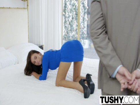 TUSHY First Anal For Hot Wife Whitney Wes ...