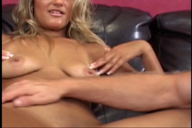 Cute-chick-in-tight-skirt-sucks-cock-and-gets-fucked-in-living-r