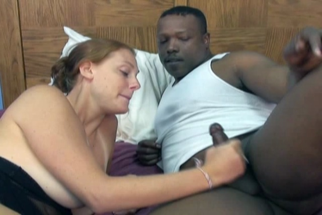 Monster-black-cock-gets-sloppy-and-slow-deepthroat-from-brunette