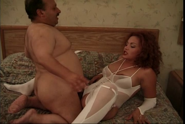 Randy-slut-gets-a-fat-midget-pounding-her-cunt-while-wearing-whi
