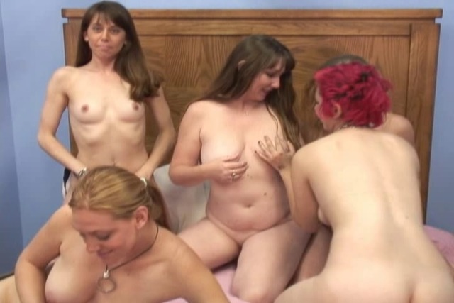 Cute-Lesbians-have-a-big-toy-party-and-share-sopping-wet-dildos-