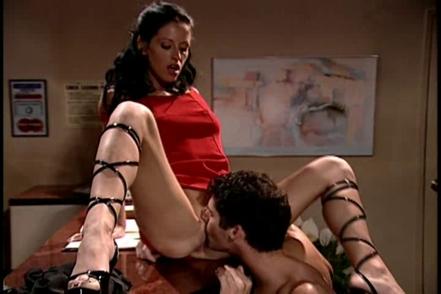 Beautiful-receptionist-in-lace-up-shoes-gets-fucked-hard