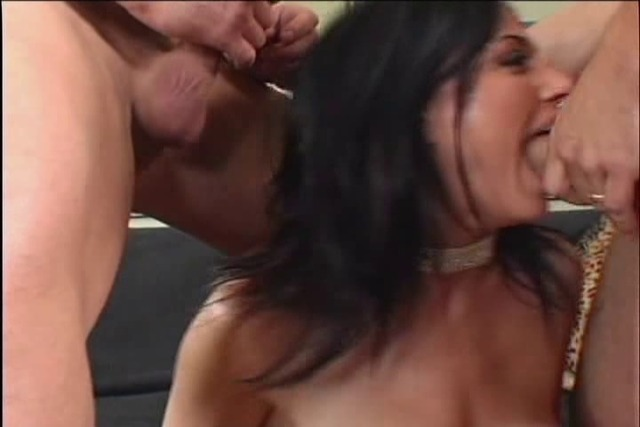 Naughty-girl-eats-two-cock-at-the-same-time-while-her-cunt-is-fo