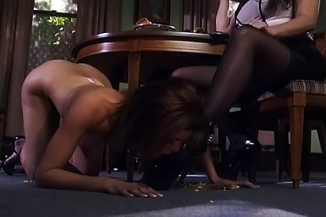 Extreme-bitch-bound-and-teased-in-BDSM