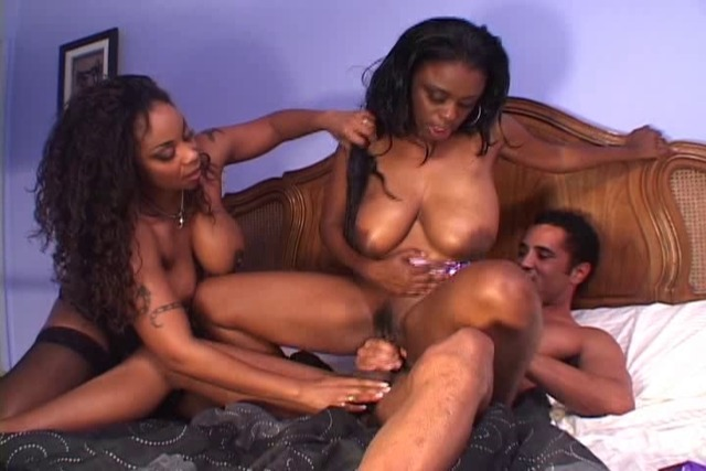 Horny-stud-loving-it-as-he-fucks-two-black-babes-in-a-threesome