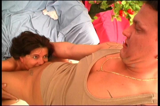 Two-mature-ladies-share-a-big-cock