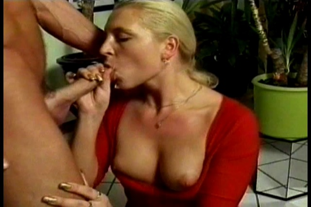 Sexy-bitch-gets-her-mouth-fucked-while-giving-BF-amazing-head