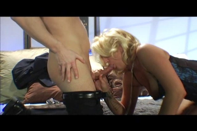 Blonde-slut-in-lingerie-and-heels-blows-guy-before-getting-anal