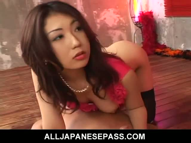 Hatsumi-in-skull-stockings-rides-a-horny-mouth-leaving-it-covere