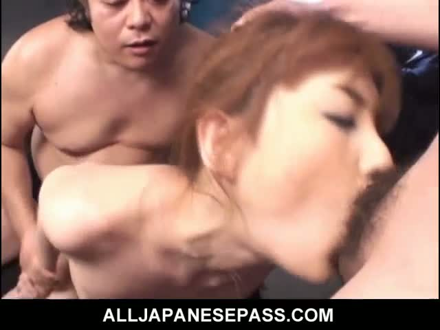 Hot-Japanese-MILF-Maria-Asagiri-bound-and-toyed