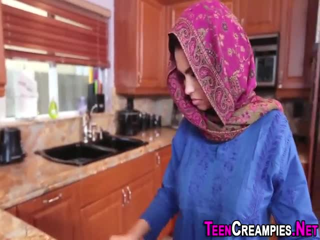 Tiny-arab-slut-creampied