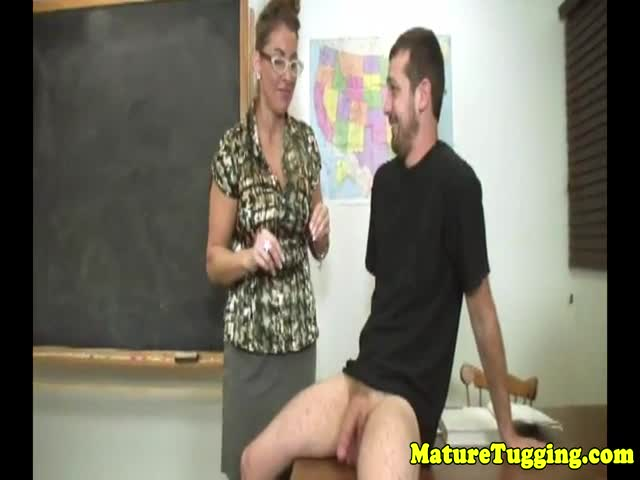 Cfnm-milf-teacher-gets-her-tits-creamed-on