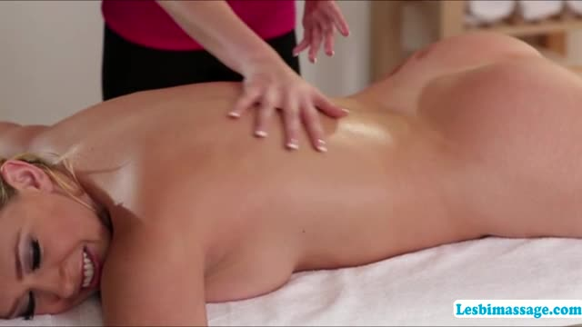 A-horny-afternoon-lesbian-sex-action-at-the-spa