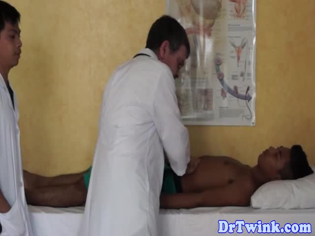 Asian-twink-squirting-enema-after-bj-from-doctor