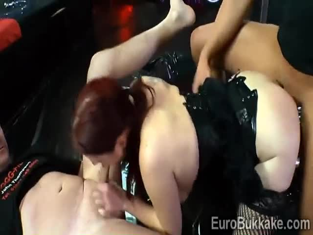 Curvy-German-babe-showers-with-piss-in-a-naughty-gang-bang