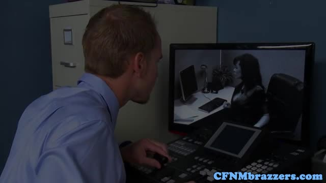 Cfnm-office-milfs-force-bloke-to-fuck-them