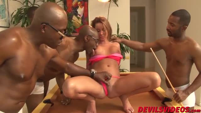 Attractive-Tanner-Mayes-gets-gangbanged-by-four-black-dudes