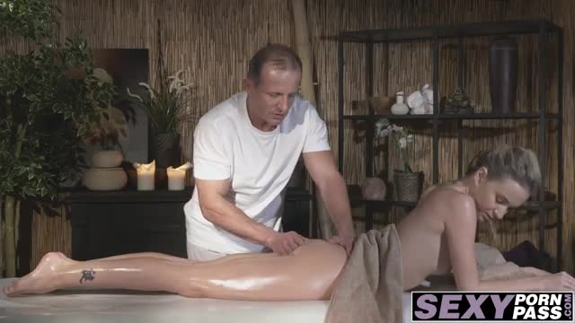 Pretty-blonde-babe-Angel-gets-pussy-drilled-in-massage-room