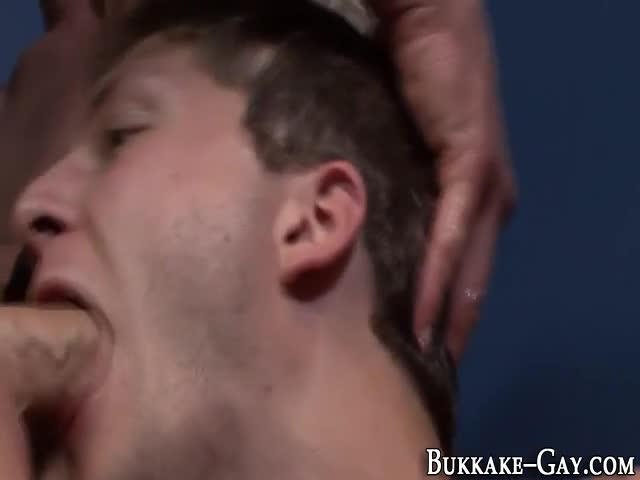 Bukkake Gets Gay Messy After Being Fucked